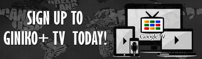 Giniko+ TV Activation Portal - Roku,Android/GoogleTV/Web